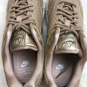 Nike Shoes - Nike Gold Fish Scale Air Max 1 Premium Sneakers